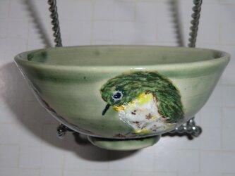めじろの小さめ飯茶碗の画像
