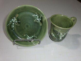 スズランカップ&ソーサの画像