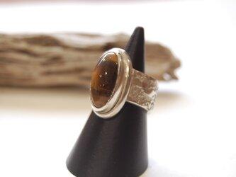 トラ目石の指輪 [SILVER950]の画像