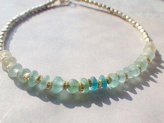 Sea Roman Glass Bracelet *14kgf*の画像