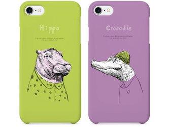 Originalスマホケース「Hippo&crocodile」の画像