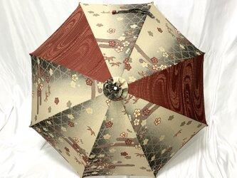 日傘 de 着物 短夜(MIJIKAYO)の画像