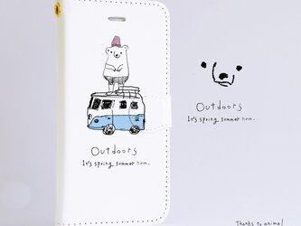 Original手帳型iPhoneケース「Outdoors」の画像