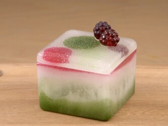 GLASS SWEETS / Moose de Matcha et Cassisの画像