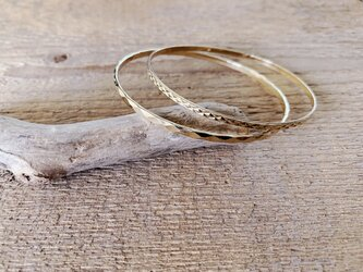 Design Bangle set /goldの画像