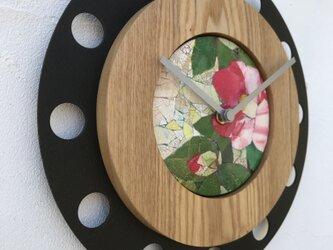 卵殻モザイク クロック/feeLife clock model 04:No.04001の画像