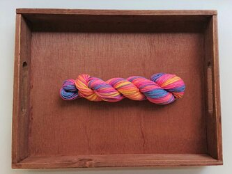 インダスからの贈り物(オリジナルの段染め糸)①の画像