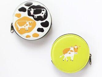 牛 コインケースの画像