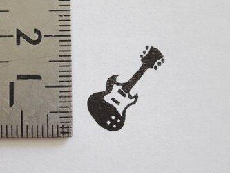 スタンプ/ゴム印/はんこ 「ギター」の画像