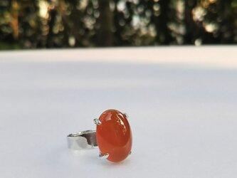 sv925 カーネリアンのリング の画像