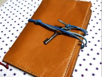 本革日記帳カバー ブックカバー 《名入れ刻印可》の画像