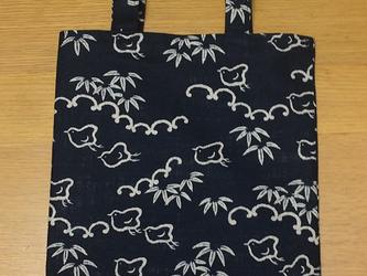 和柄トートバッグ~千鳥の画像
