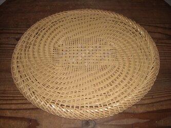 真竹の蕎麦ざる(楕円)の画像