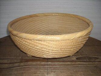 山路編み盛りかごの画像