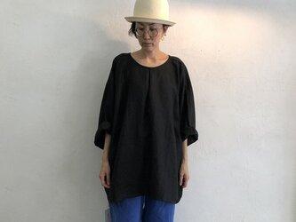 Pablo Shirt - Long   Blackの画像
