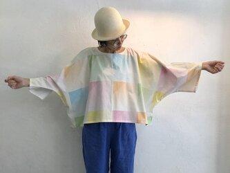 Pablo Shirt - Short   White x 北欧テキスタイルの画像