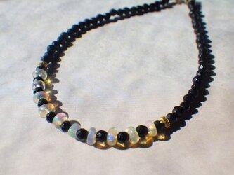 *14kgf*Rainbow Opal Onyx braceletの画像