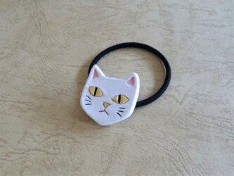 ヘアゴム/猫-WHの画像