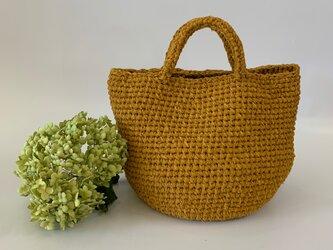 裂き編みバッグ マルシェバッグ レギュラーサイズの画像