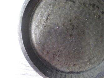 南蛮手風 伊羅保平皿の画像