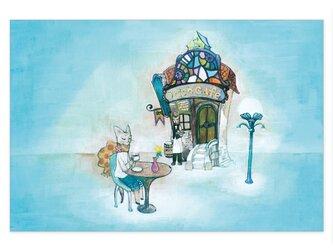 選べるポストカード/2枚セット『No.179 オリオンカフェ』の画像