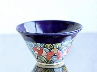 金魚鉢(瑠璃)の画像