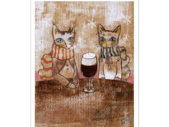 選べるポストカード/2枚セット『No.190 アイリッシュ珈琲』の画像