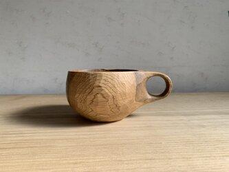 ナラの木のマグカップ  #1の画像