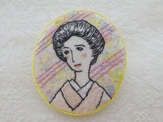 《日本刺繍》ときめきブローチ ‐1919の画像