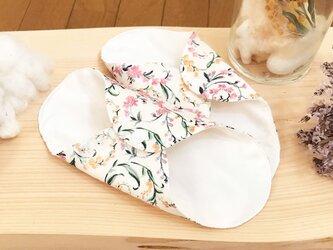 シルクのふだん使いの布ナプキン リュクス シルクライナー whiteの画像