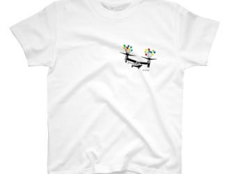 Tシャツ オスプレイ【キッズ・レディース・メンズ】の画像