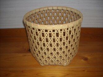 差し六つ目編みかごの画像