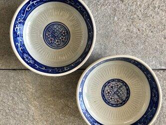 深めの丸皿(2個セット)の画像