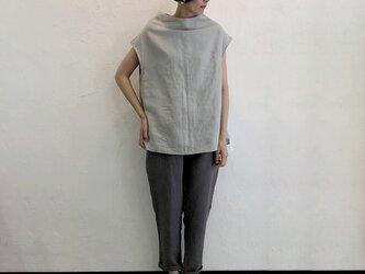 H! Blouse - No Sleeve   Stoneの画像