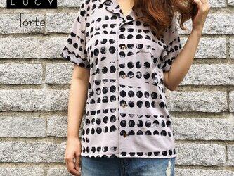 オープンカラーシャツ【GRAY MOON】の画像
