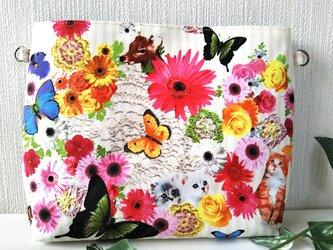 ネコちゃんの花園2Wayバックインバックの画像