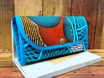 833アフリカパーニュ長財布の画像