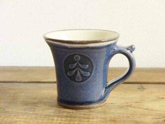 雪松模様のデミタスカップ(呉須)の画像