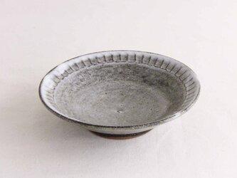 しのぎ手小皿(わら灰)の画像