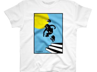 Tシャツ Monky SK8【キッズ・レディース・メンズ】の画像