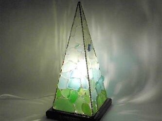 シーグラスランプ ピラミッドランプ L-14の画像