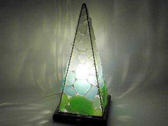 シーグラスランプ ピラミッドランプ L-15の画像