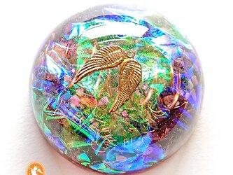 大天使ミカエルのハグ グレートセントラルサン オルゴナイト do1004amhugg00023の画像