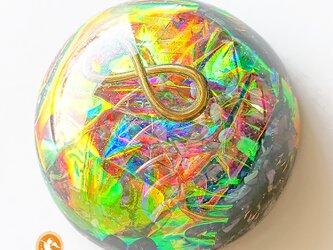 [受注制作]宇宙のハグ グレートセントラルサン オルゴナイト インフィニティ スギライト do1002huggsinf00011の画像