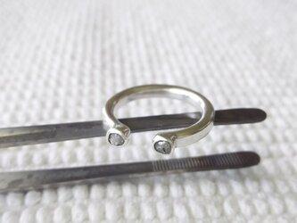 リング ラフダイヤモンド 14号の画像