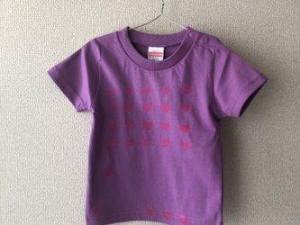 キッズTシャツ シルクスクリーン cat 90の画像