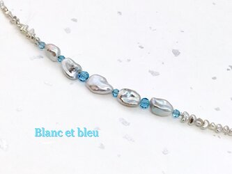 Blanc et bleu(白と青)の画像