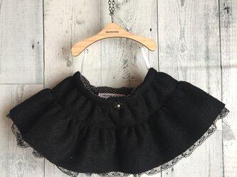 ダッフィーサイズのお洋服 ティアードスカートの画像