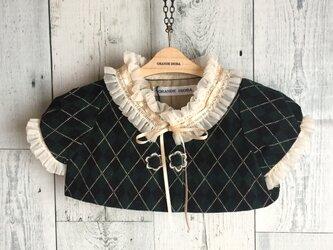 ダッフィーサイズのお洋服 別珍プリントジャケットの画像