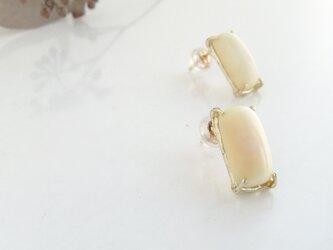 k10✼Makkoh pierced earrings 92046の画像